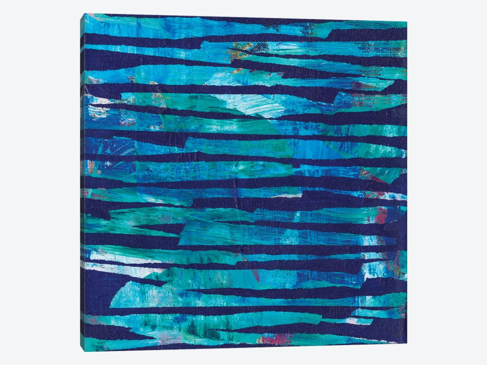Torn Indigo I by Jodi Fuchs 1-piece Canvas Art
