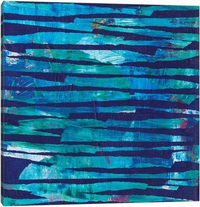 Torn Indigo I Canvas Art Print