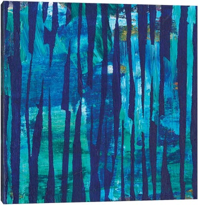 Torn Indigo II Canvas Art Print