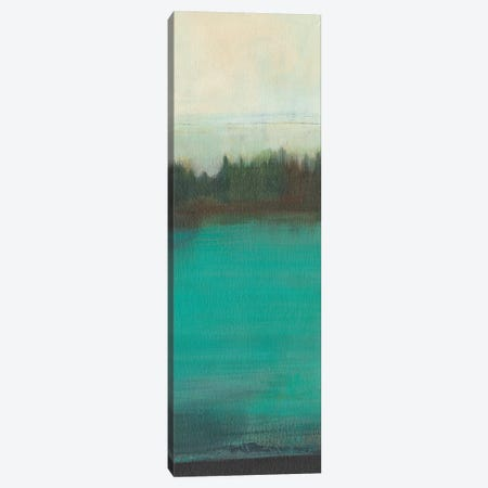 Teal Lake View I 3-Piece Canvas #JFU42} by Jodi Fuchs Canvas Print
