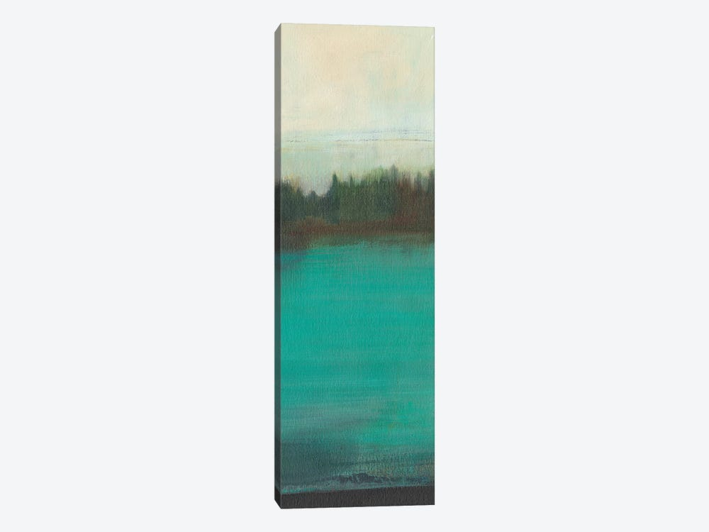 Teal Lake View I by Jodi Fuchs 1-piece Canvas Artwork