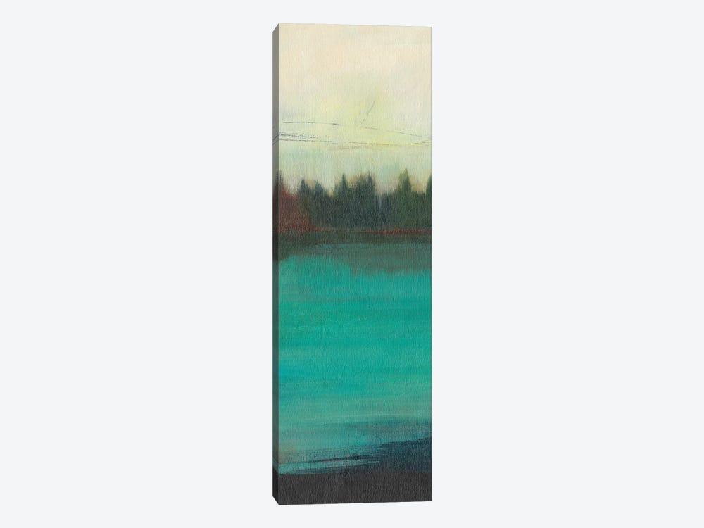 Teal Lake View II by Jodi Fuchs 1-piece Canvas Art Print