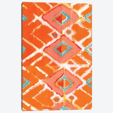 Orange Tribal I Canvas Print #JFU46} by Jodi Fuchs Canvas Wall Art
