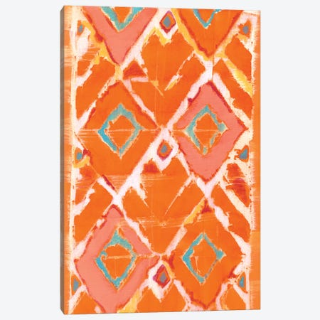 Orange Tribal II Canvas Print #JFU47} by Jodi Fuchs Canvas Wall Art