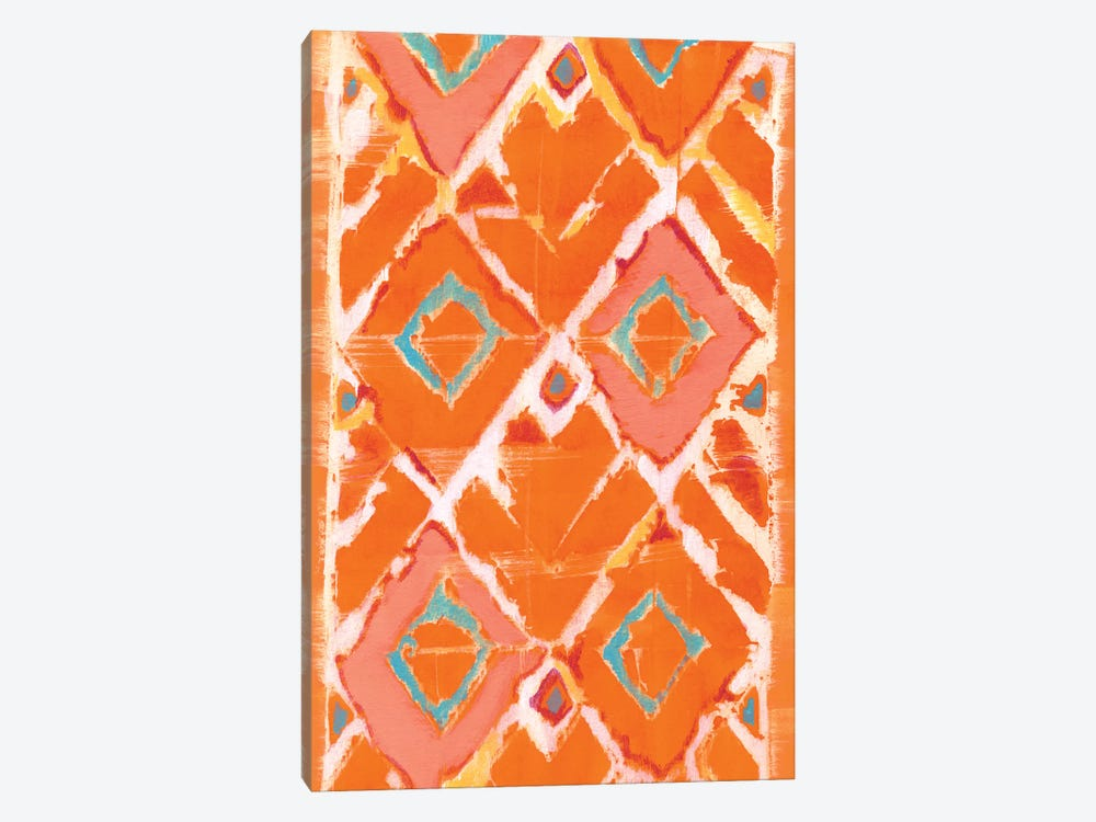 Orange Tribal II by Jodi Fuchs 1-piece Canvas Print