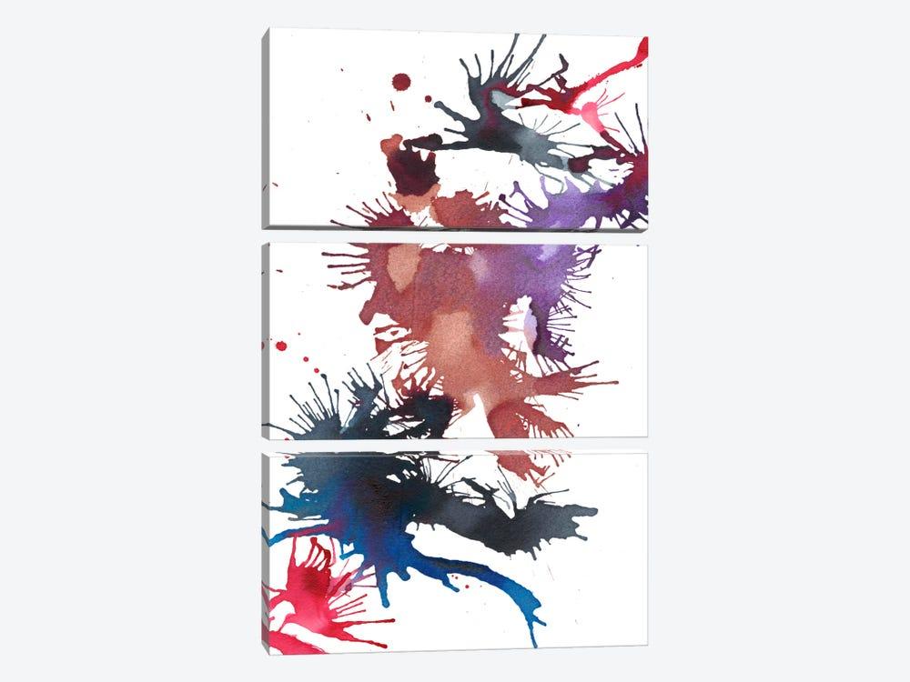 Fireworks II by Jodi Fuchs 3-piece Canvas Print