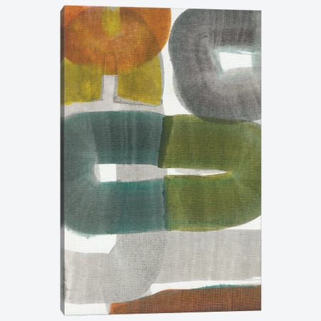 Geode Abstraction I Canvas Print #JFU50} by Jodi Fuchs Canvas Artwork