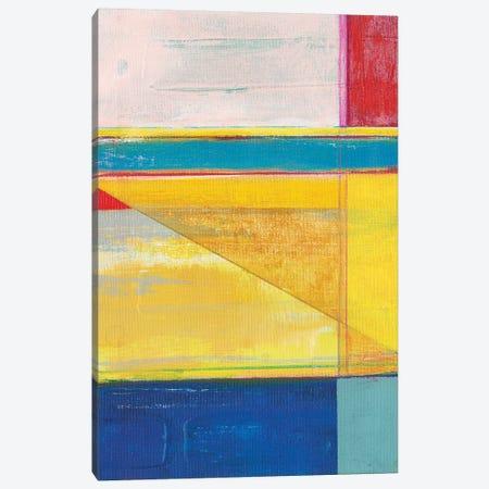 Colorful Geometrics I Canvas Print #JFU52} by Jodi Fuchs Canvas Artwork