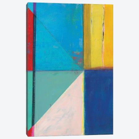 Colorful Geometrics II Canvas Print #JFU53} by Jodi Fuchs Canvas Art