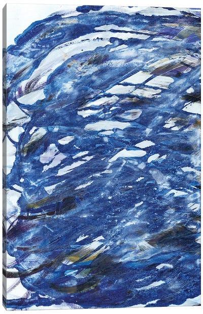 Blue Infinity II Canvas Art Print