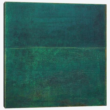 Green Zen I Canvas Print #JFU58} by Jodi Fuchs Canvas Wall Art