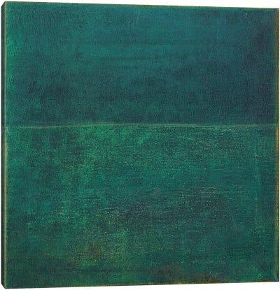 Green Zen I Canvas Art Print