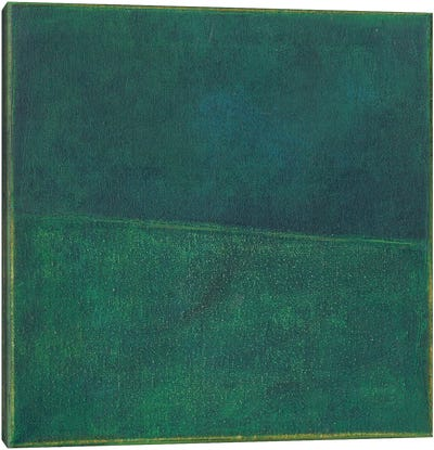 Green Zen II Canvas Art Print