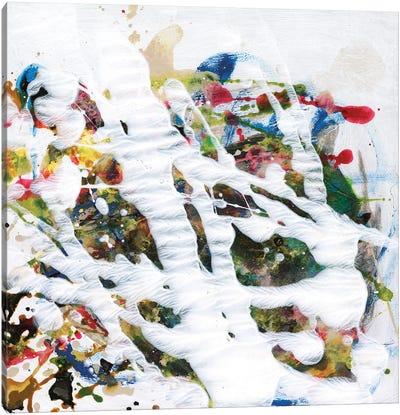 Pollock's Party I Canvas Art Print