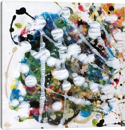 Pollock's Party II Canvas Art Print
