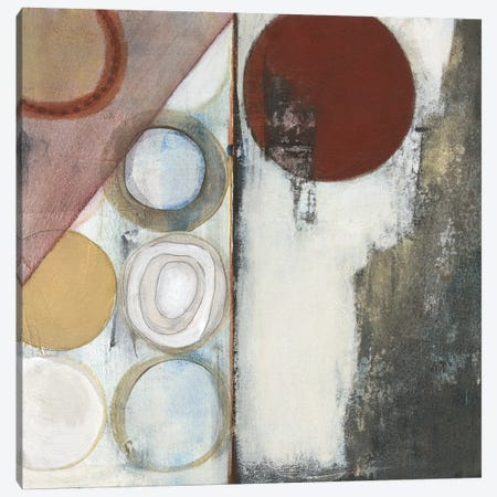 Seven Circles I Canvas Print #JFU71} by Jodi Fuchs Canvas Art