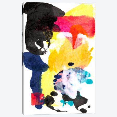 Paint Bloom I Canvas Print #JFU9} by Jodi Fuchs Art Print