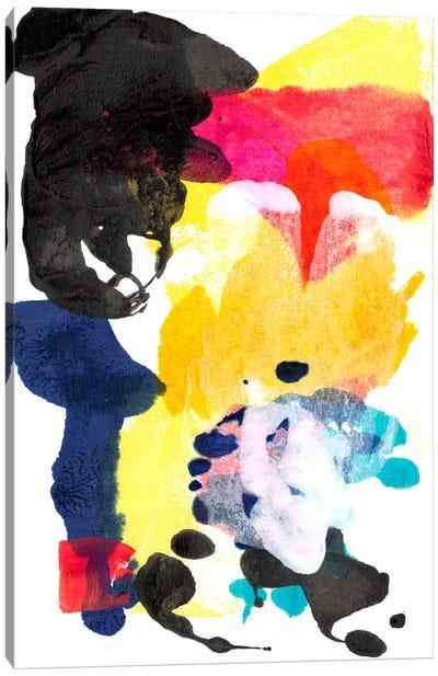 Paint Bloom I Canvas Art Print