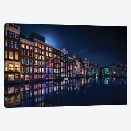 Amsterdam Windows Colors Canvas Print #JGA10} by Jesús M. García Art Print