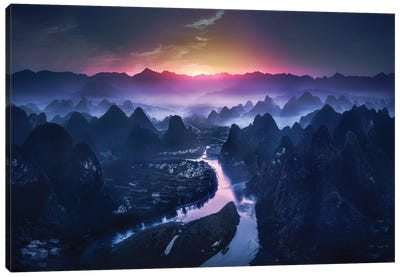 The Earth Awakening Canvas Art Print