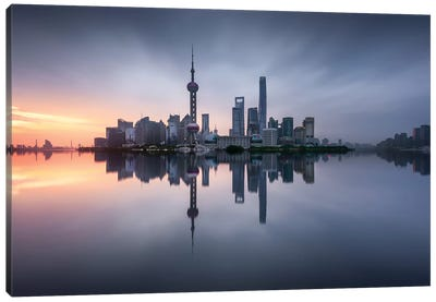 Good Morning Shanghai Canvas Art Print