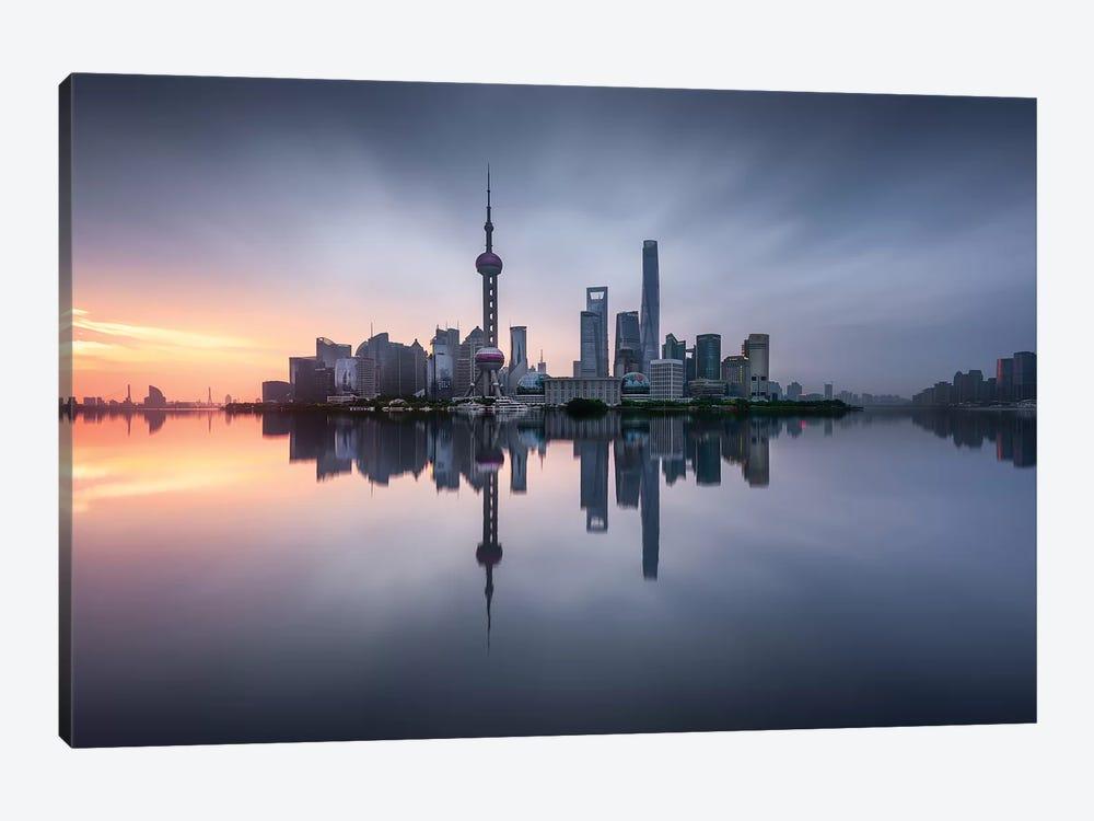 Good Morning Shanghai by Jesús M. García 1-piece Canvas Art Print