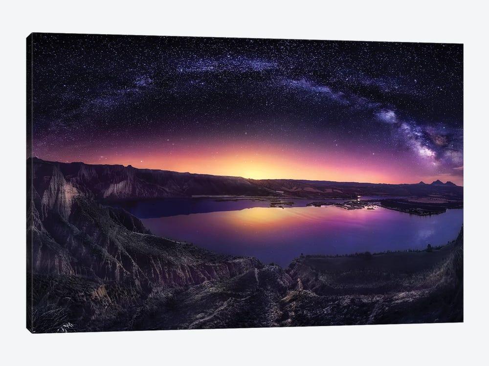 Milky Way Over Las Barrancas 2016 by Jesús M. García 1-piece Canvas Wall Art