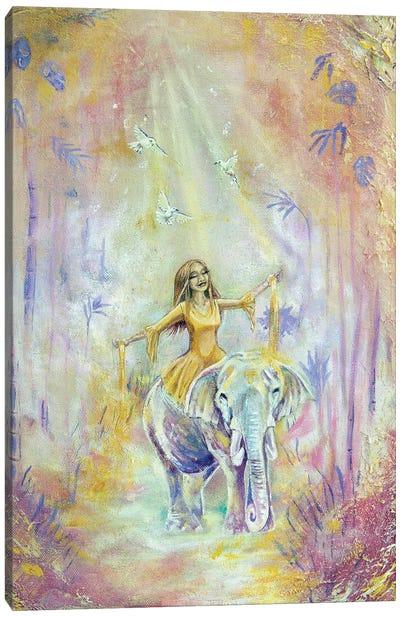 Path Of Gold Canvas Art Print
