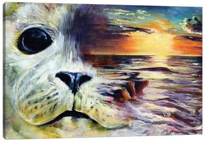 Tales Of The Shore Canvas Art Print