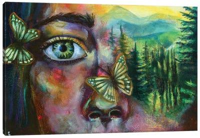 The Same You Canvas Art Print