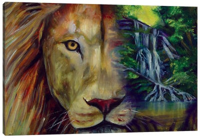 Pure Living Canvas Art Print