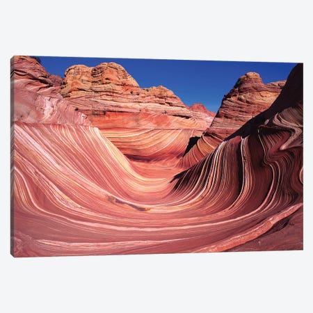 The Wave, Coyote Buttes, Paria Canyon-Vermilion Cliffs Wilderness, Vermillion Cliffs National Monument, Arizona, USA Canvas Print #JGI1} by Jerry Ginsberg Art Print