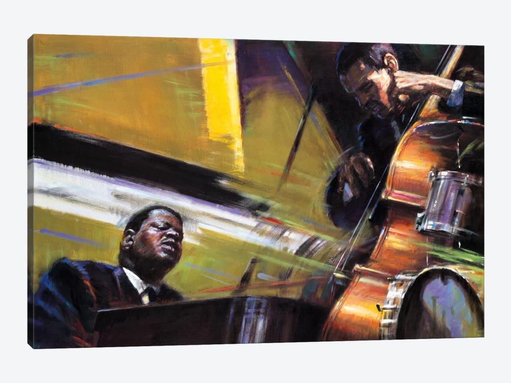 Trio by Jin G. Kam 1-piece Art Print