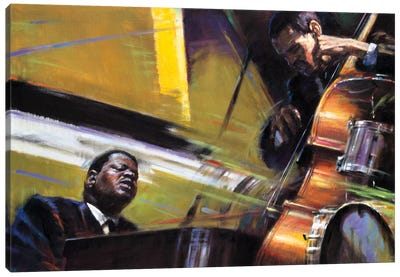 Trio Canvas Art Print