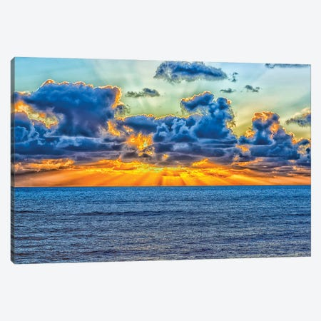 A Heavenly Coast Canvas Print #JGL112} by Joseph S. Giacalone Art Print