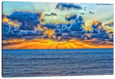 A Heavenly Coast Canvas Art Print