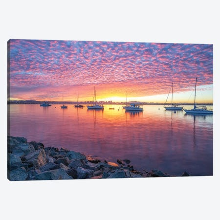 Patterns In The Sky Canvas Print #JGL114} by Joseph S. Giacalone Canvas Art