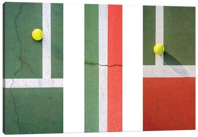 Balls On The Court I Canvas Art Print