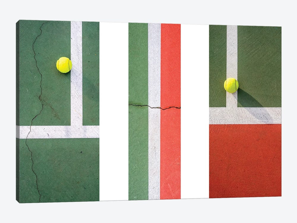 Balls On The Court I by Joseph S. Giacalone 1-piece Canvas Wall Art