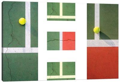 Balls On The Court II Canvas Art Print