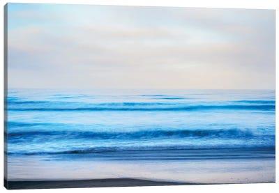 A Blue Sea Canvas Art Print