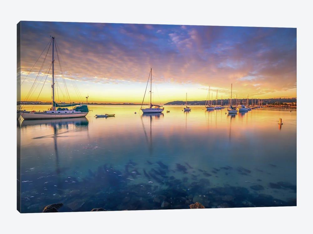 Shelter Island Sunrise by Joseph S. Giacalone 1-piece Canvas Art