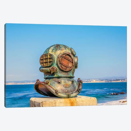 Cannery Divers Memorial Canvas Print #JGL156} by Joseph S. Giacalone Canvas Wall Art