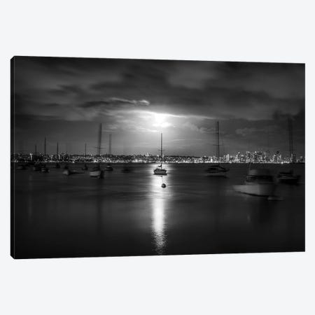 A Moody And Magical San Diego Harbor Canvas Print #JGL160} by Joseph S. Giacalone Canvas Art