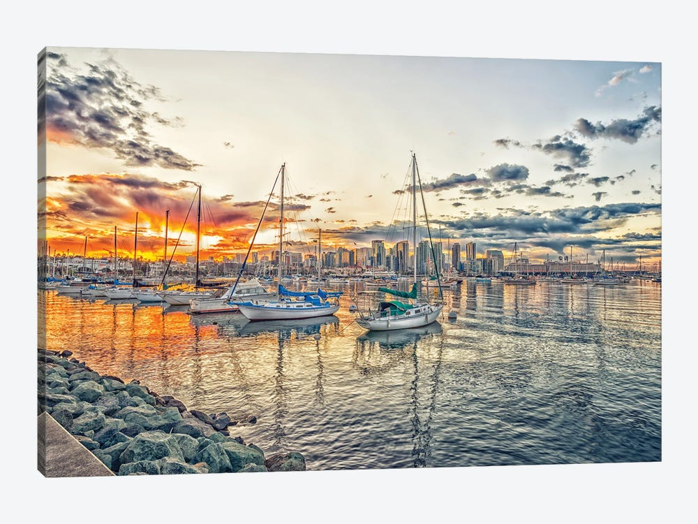 A Hint Of Orange by Joseph S. Giacalone 1-piece Canvas Wall Art