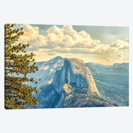 Reaching Towards Half Dome Canvas Print #JGL169} by Joseph S. Giacalone Canvas Wall Art