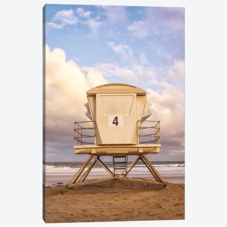 Morning Greeting From Ocean Beach III Canvas Print #JGL196} by Joseph S. Giacalone Canvas Art