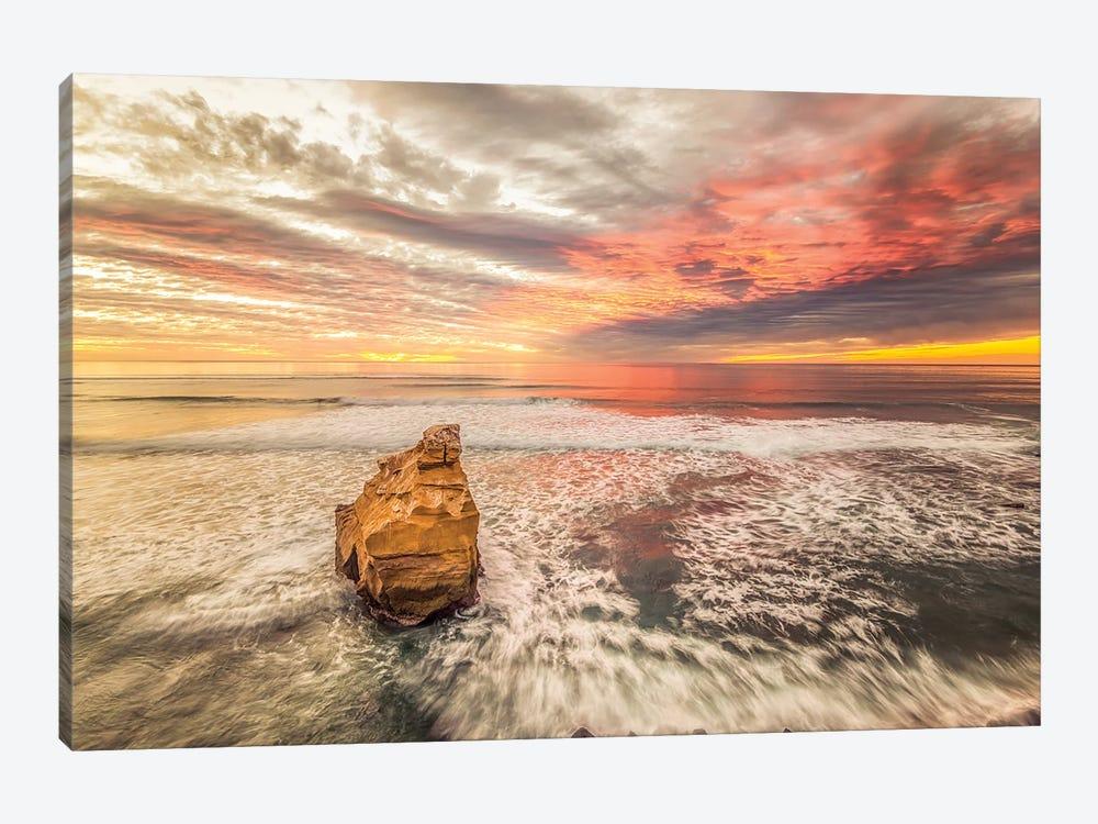 Bird Rock Sunset by Joseph S. Giacalone 1-piece Art Print
