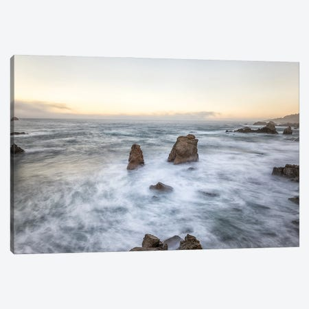 Rocks And Sea Canvas Print #JGL1} by Joseph S. Giacalone Canvas Art