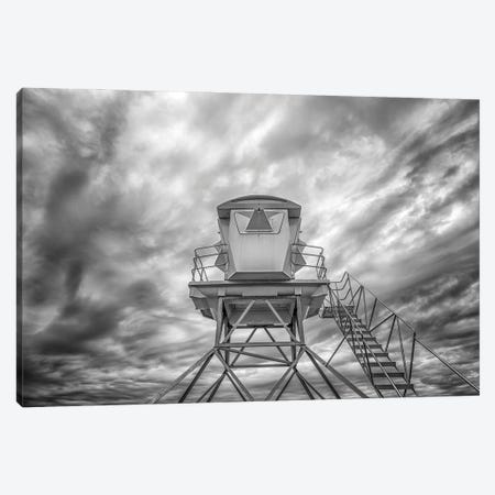 Tower In The Clouds Canvas Print #JGL203} by Joseph S. Giacalone Canvas Art Print